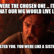 Obi Wan Chosen One | Hilarious pictures with captions