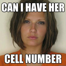 Can I have her cell number