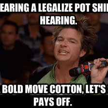 Legalize pot shirt