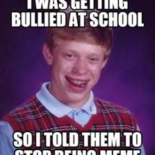 bullied at school meme
