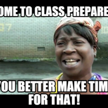 Sweet Brown | Hilarious pictures with captions Come To Class Prepared
