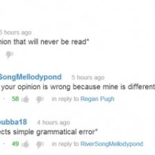 Typical YouTube comments
