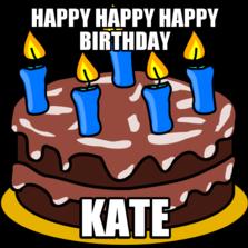 703756 happy happy happy birthday kate memes com,Happy Birthday Kate Meme