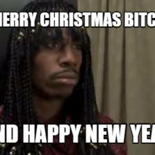 Merry xmas bitch did they
