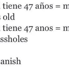 I love spanish