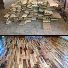 Re-purposing Old Woods Pallets