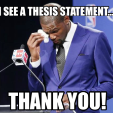 """thank you for smoking thesis statement Peter brimelow brings to light an interesting idea in his essay """"thank you for  smoking  peter brimelow says just that in his article """"thank you for smoking."""