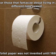 Thank the lord for toilet paper