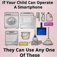 Children need to learn their chores