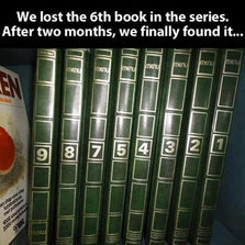 Finally found the lost book