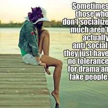 Sometimes those who don't...