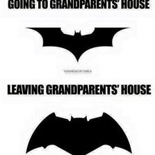 Leaving grandparents