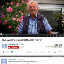 World's oldest Battlefield player