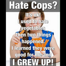 Hate cops?