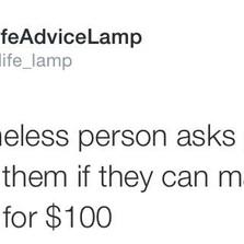 Make change for $100
