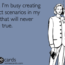 I'm busy creating perfect...