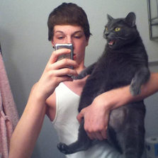 That's not how you hold a cat
