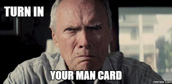 Image result for Man card gif