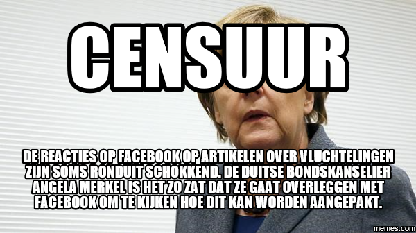 Afbeeldingsresultaat voor censuur op facebook